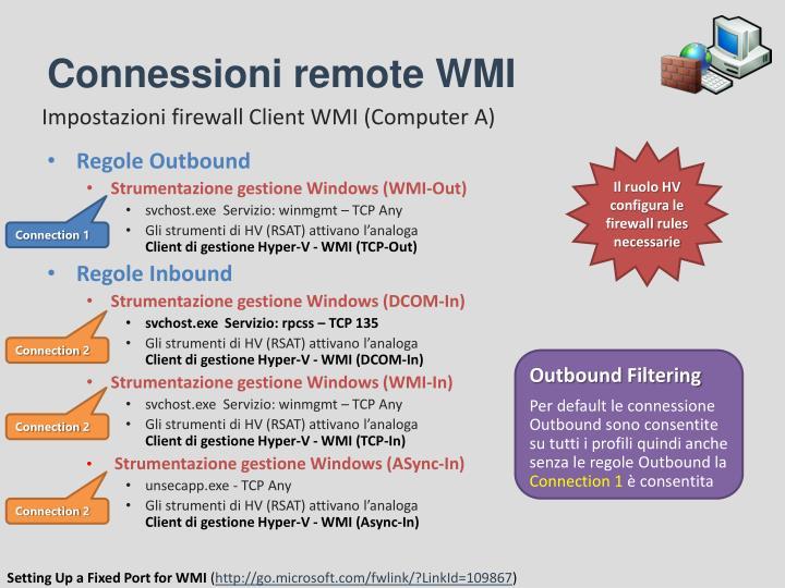 Connessioni remote