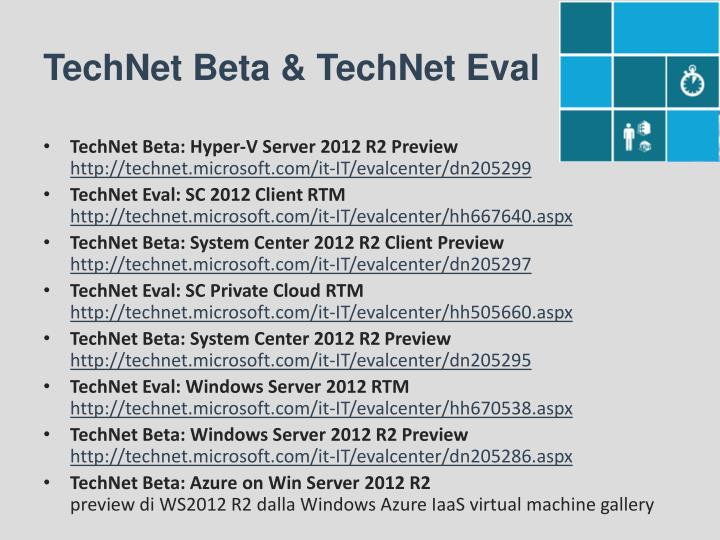 TechNet Beta & TechNet
