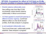 xp 1026 a loarte effects of elm control with rmp on edge power fluxes between and at elms1
