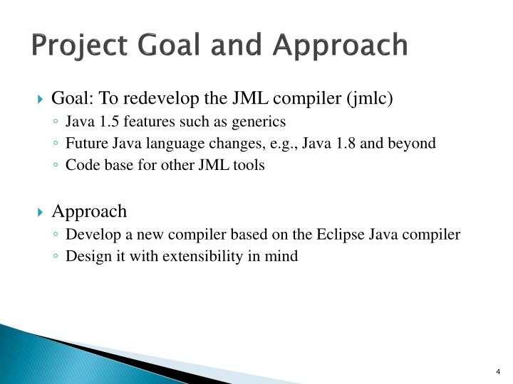 Project Goal and Approach