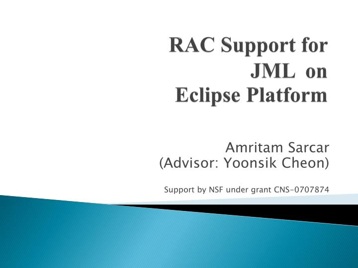 RAC Support for