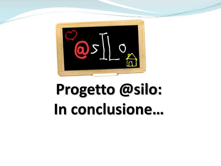 Progetto @silo