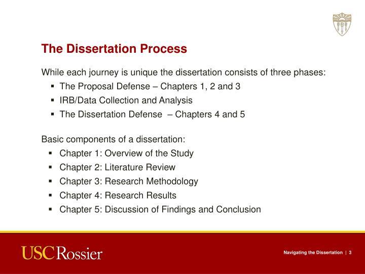 The Dissertation Process