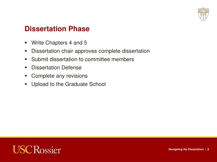Dissertation Phase