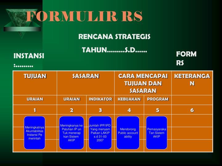 FORMULIR RS