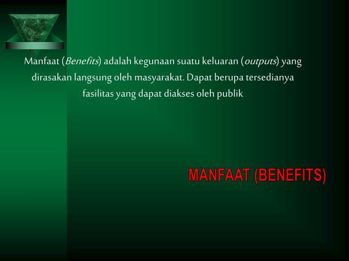 Manfaat (