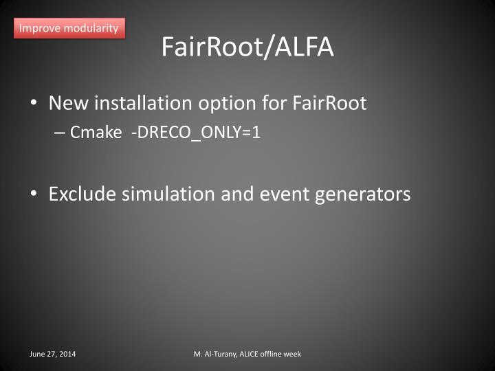 FairRoot