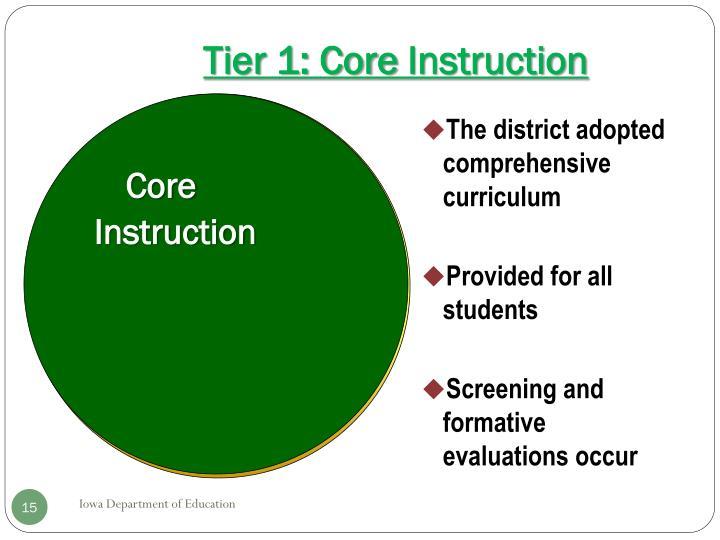 Core Instruction