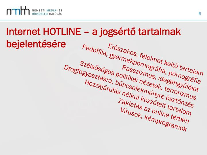 Internet HOTLINE
