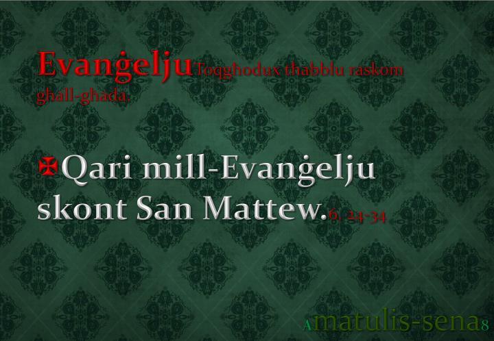 Evanġelju