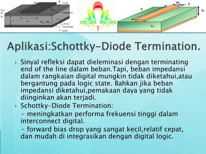 Aplikasi:Schottky