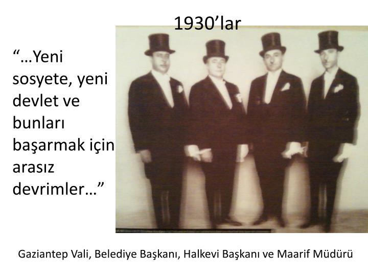 1930'lar
