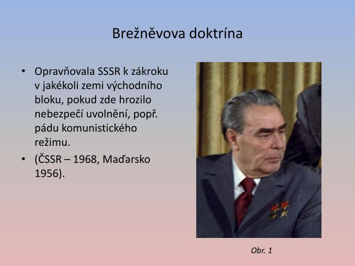 Brežněvova doktrína