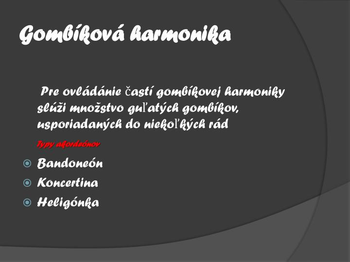 Gombíková harmonika