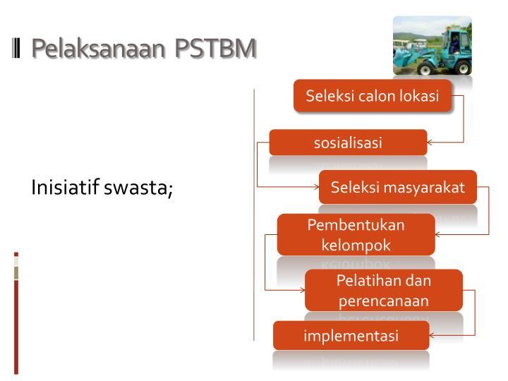 Pelaksanaan  PSTBM