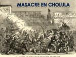 masacre en cholula