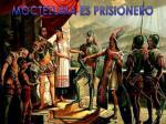 moctezuma es prisionero