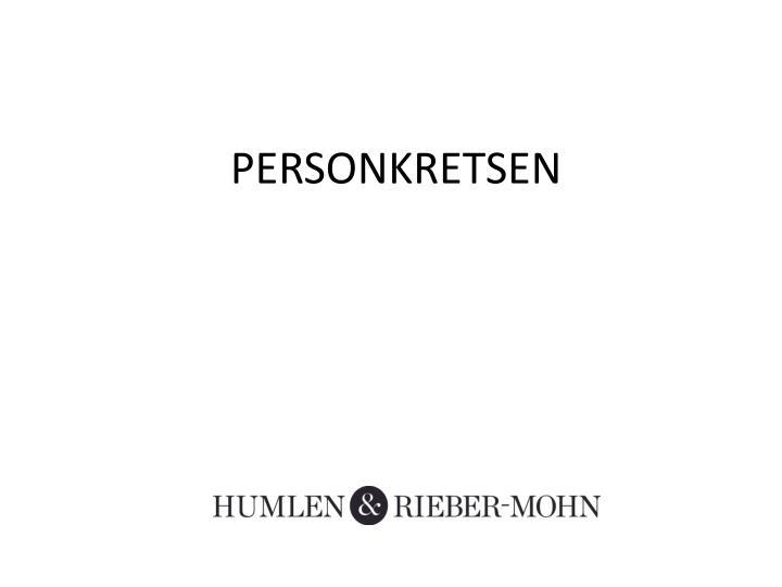 PERSONKRETSEN