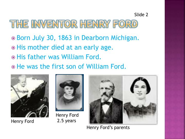 The inventor henry ford1