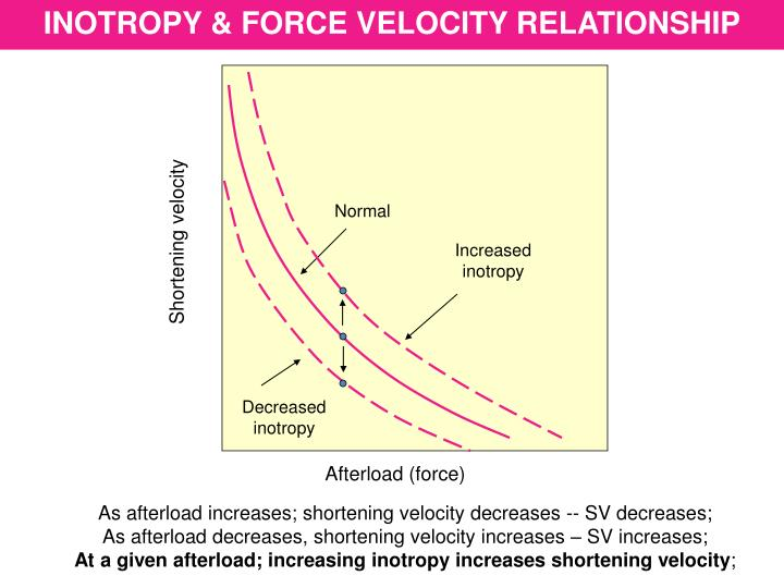 INOTROPY & FORCE