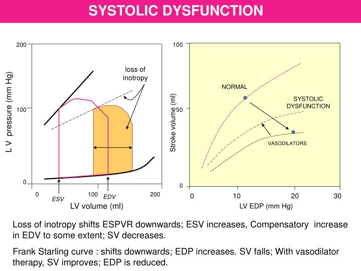 SYSTOLIC DYSFUNCTION