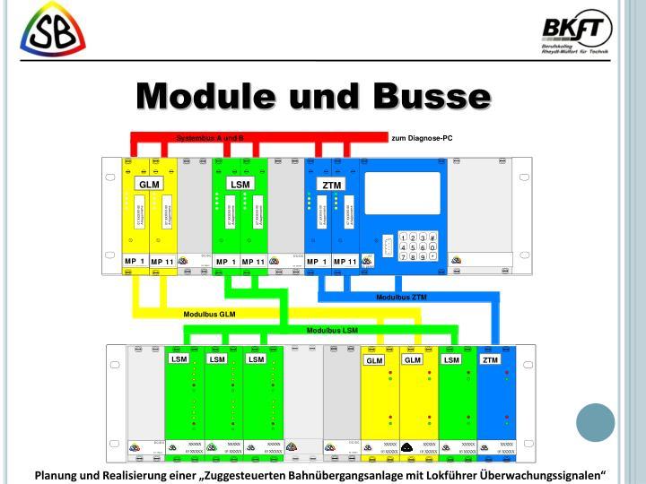Module und Busse