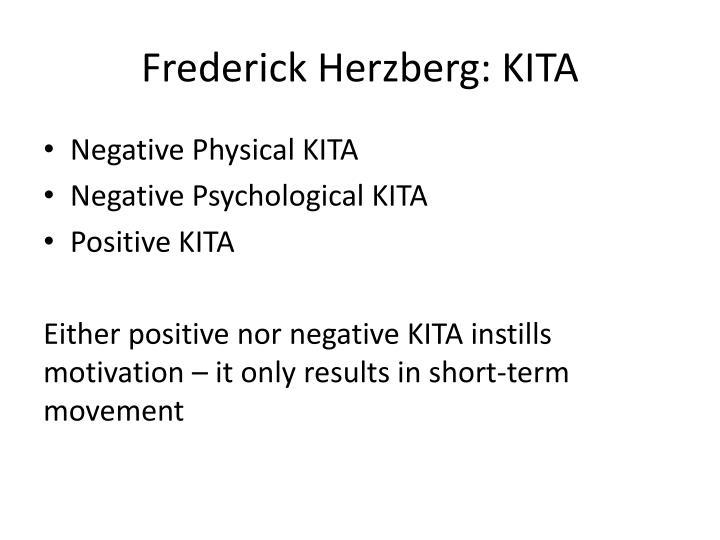 Frederick Herzberg: KITA