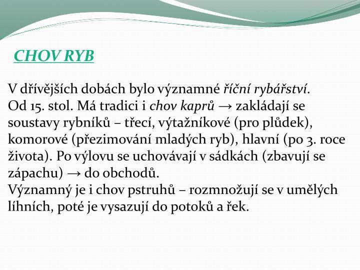 CHOV RYB