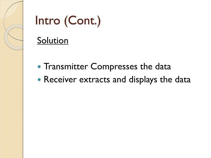 Intro (Cont.)