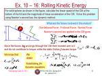 ex 10 16 rolling kinetic energy