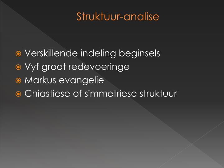 Struktuur-analise