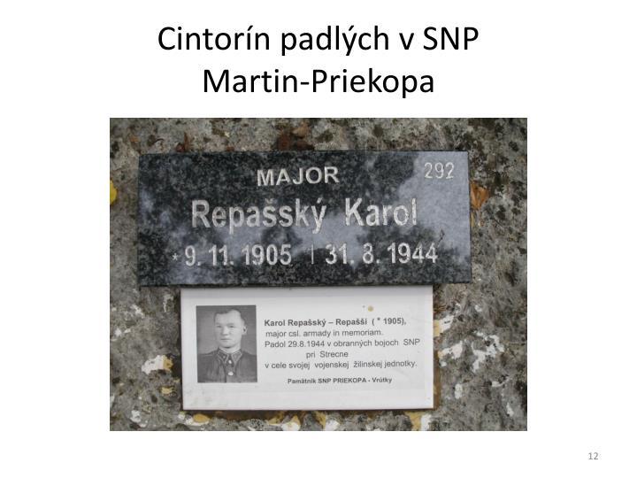 Cintorín padlých v SNP