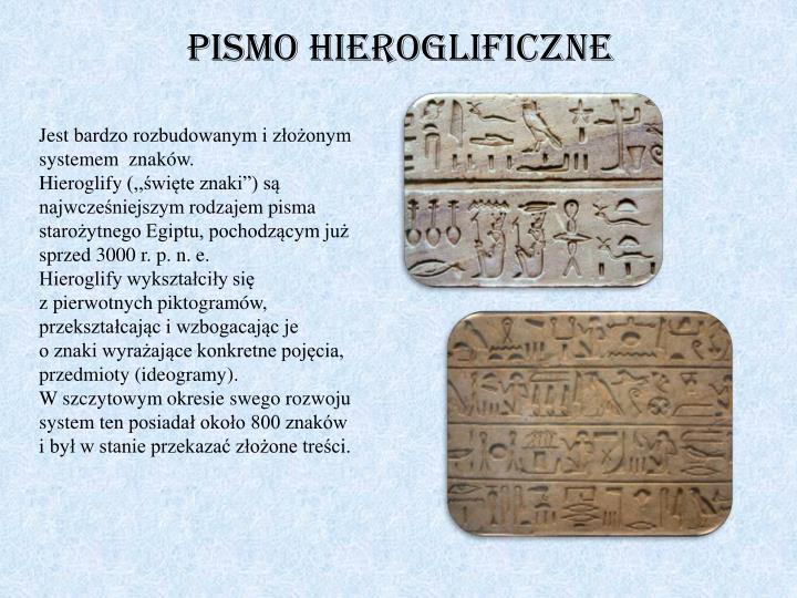 Pismo hieroglificzne
