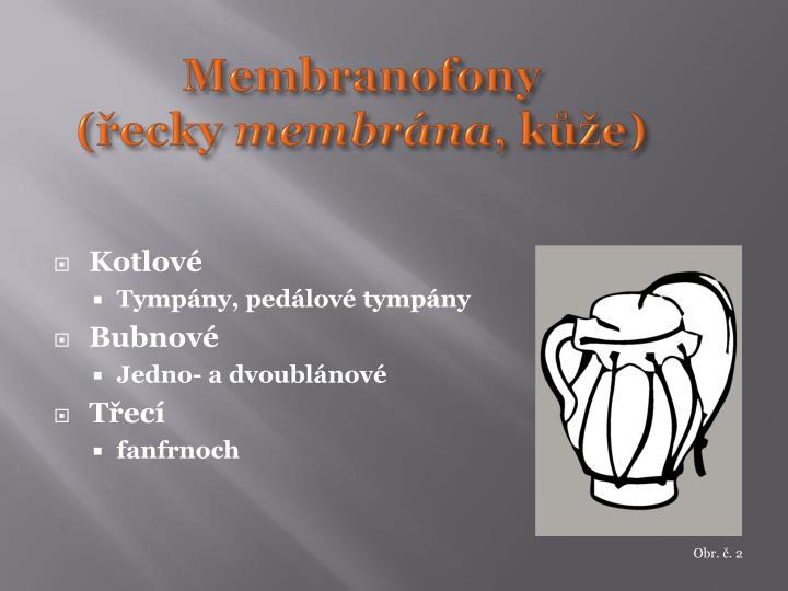 Membranofony