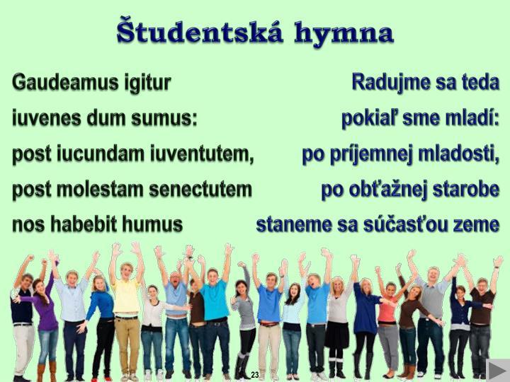 Študentská
