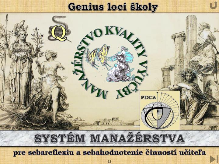 Genius loci školy