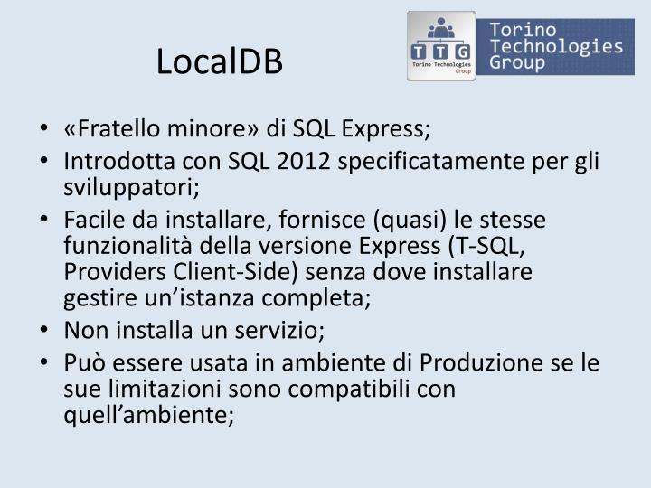LocalDB