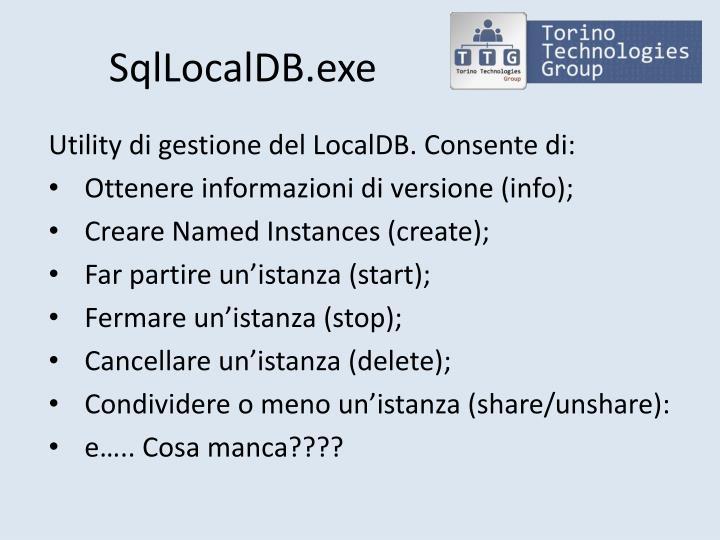 SqlLocalDB.exe