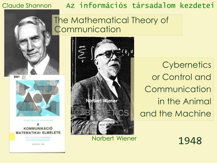 Az információs társadalom kezdetei