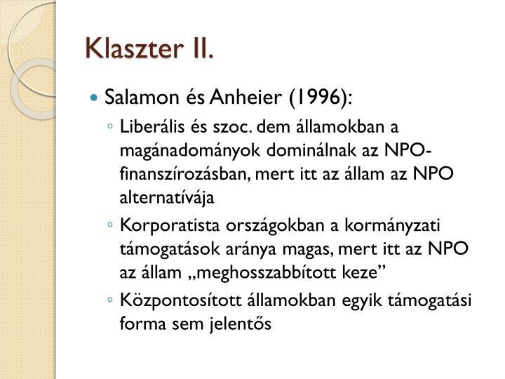Klaszter II.