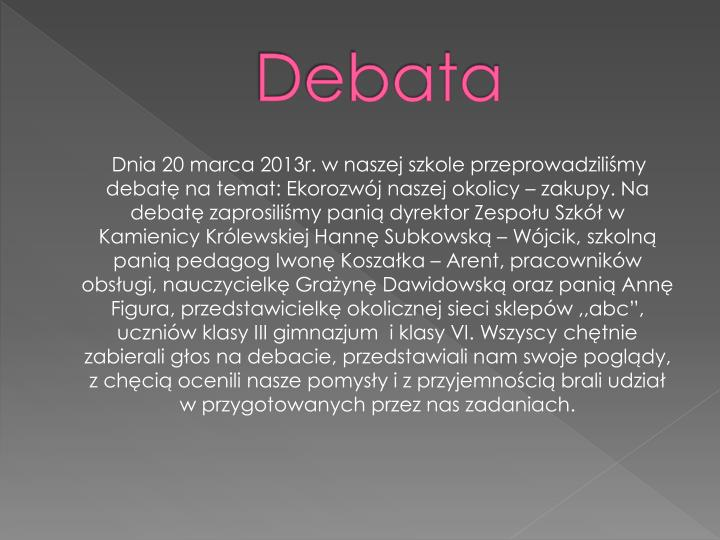 Debata