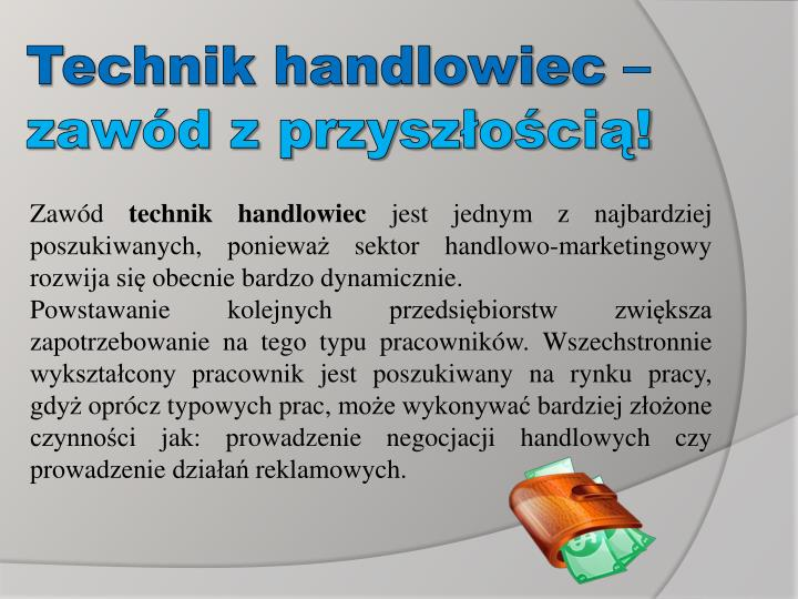 Technik handlowiec