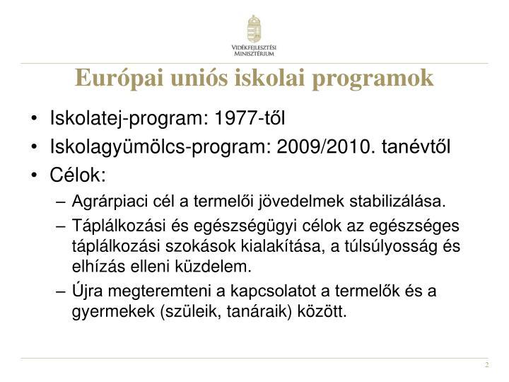Európai uniós