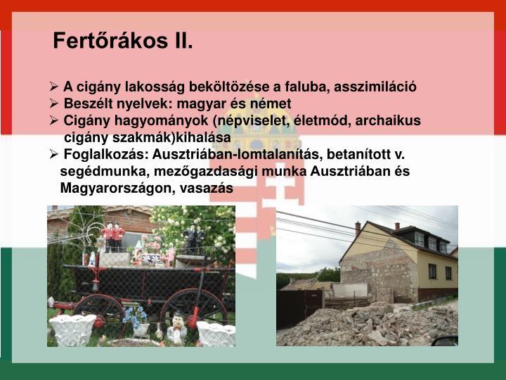 Fertőrákos II.