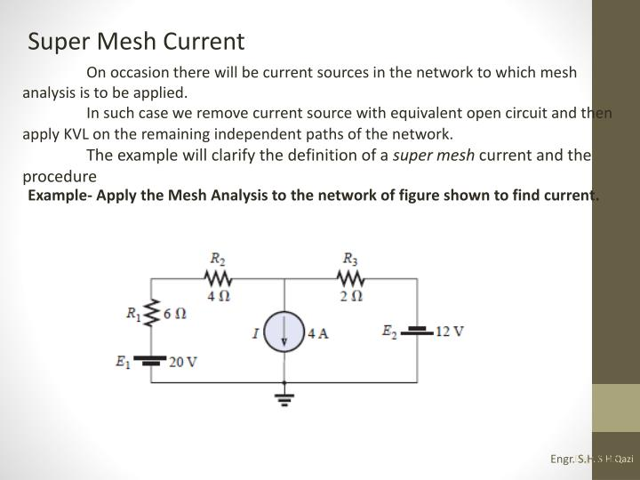 Super Mesh Current