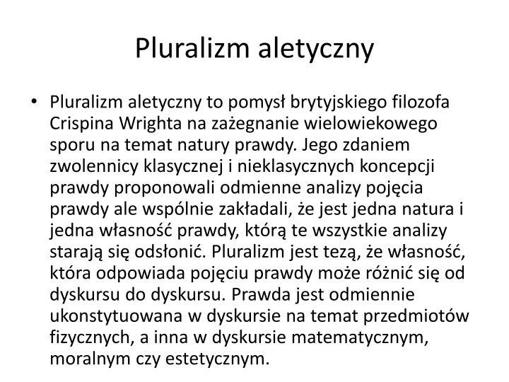 Pluralizm