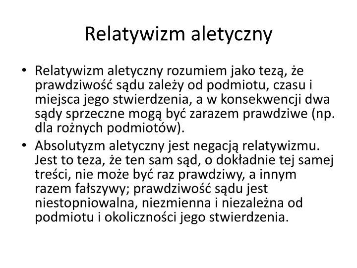 Relatywizm