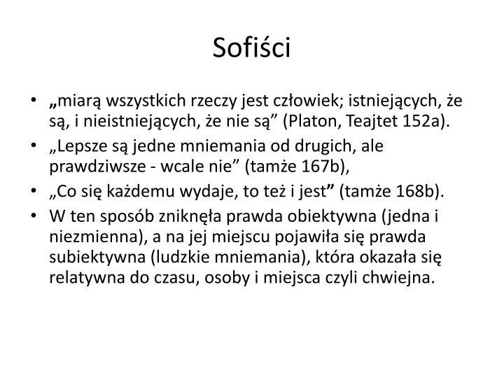 Sofiści