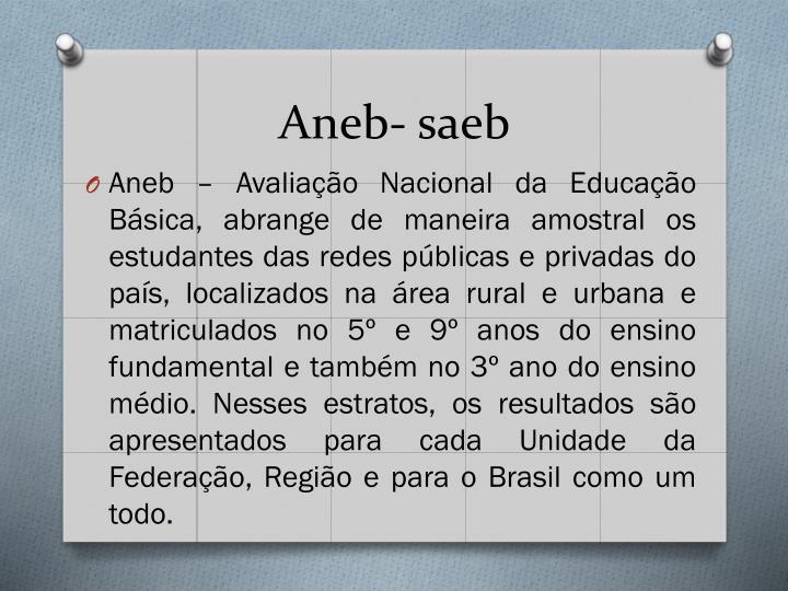 Aneb- saeb
