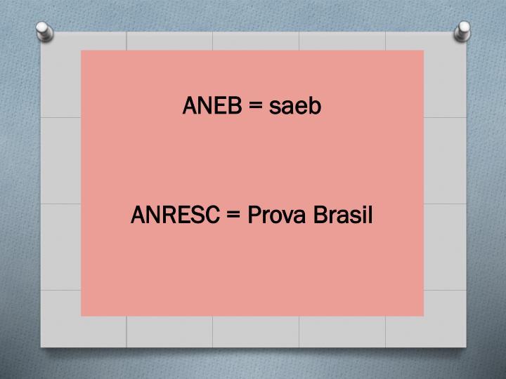 ANEB = saeb
